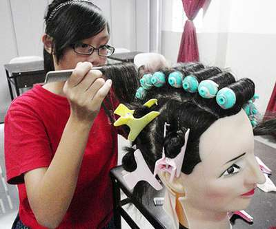 STEP Activity - Hair-styling